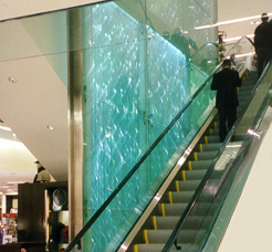 about our glass walls